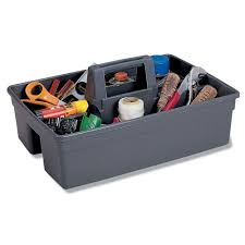 100 Plastic Truck Toolbox Contico 16 In Grey Tool Caddy6111GY At The Home Depot W16 X D10 X