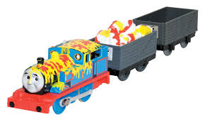 Trackmaster Tidmouth Sheds Toys R Us by Thomas Makes A Mess Thomas And Friends Trackmaster Wiki Fandom