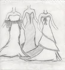 Simple Dresses Designs Sketches