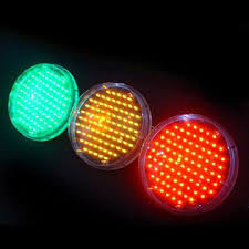 12 inch high stability led traffic signal l available in green
