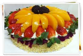 Cakes Decorated With Fruit by Use Fruits As A Cake Decoration