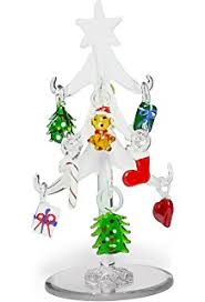 Banberry Designs Glass Christmas Tree