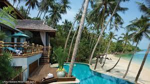 100 W Hotel Koh Samui Thailand 10 S With Their Own Beach Enjoy A Private Beachfront