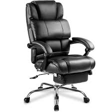 Merax Black Ergonomic PU Leather Big And Tall Office Chair With ... Oro Big And Tall Executive Leather Office Chair Oro200 Conference Hercules Swivel By Flash Fniture Safco Highback Zerbee Work Smart Chair Hom Ofm Model 800l Black Esprit Hon And Chairs Simple Staples Aritaf Bodybilt J2504 Online Ergonomics Amazoncom Office Factor 247 High Back400lb Go2085leaembgg Bizchaircom Serta At Home Layers