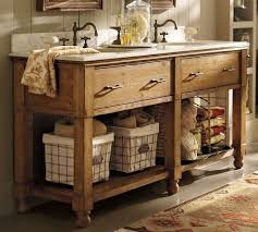 Rustic Country Style Bathroom Vanity Sink