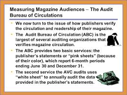 audit bureau of circulation dr h ronald moser cumberland ppt