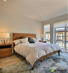 style chambre coucher chambre coucher rustique moderne chic deco bois decoration set style