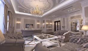 The Classical Living Room Is A Formal And Very Precise Reflection Of Owners Essence