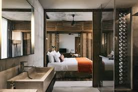 master bedroom with bathroom attached