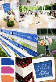 Royal Blue And Pink Modern Wedding Color Ideas 2014 Trends
