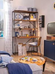 tom tailor sekretär t nest shelf office großes offenes sekretärregal aus mangoholz und metall kaufen otto