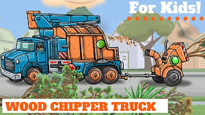 Wood Chipper Truck! For Kids! | Garbage Trucks | Pinterest | Wood ...
