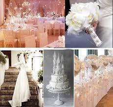 All White Wedding Theme For Winter