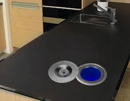 edelstahl einbau abfalleimer küchen arbeitsplatte mülleimer abfallsammler 4 5l