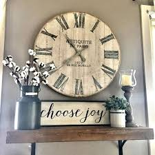 best 25 wall clock decor ideas on photo wall layout with