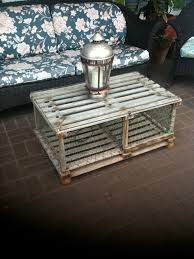 Decorative Lobster Trap Buoys by Old Crab Trap Made Into An Outdoor Coffee Table Dad Made This One