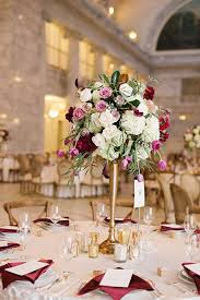 An Elegant Fall Hued Wedding In Salt Lake City Candelabra CenterpiecesColorful CenterpiecesTall