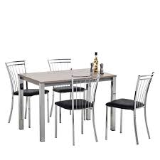 table rectangulaire de cuisine table de cuisine rectangulaire en stratifié vienna 4 pieds