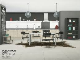 Actinium Kitchen Found In TSR Category Sims 4 Sets