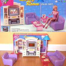 Barbie Living Room Furniture Set by Big Complete Living Room Barbie Fashion Royalty Silkstone Monster