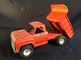 TONKA VINTAGE TOY METAL TRUCK, SERIAL NUMBER 13190, WITH MOVING BED ...