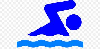 Swimming Pool Stick Figure Person Clip Art