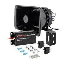 Buy LAMPHUS SoundAlert SAAH75 SASP01 100W Electronic Air Horn Kit ... Universal Fourtrumpet Air Train Horn Kit For Cartruckboat Truck Kit Two Trumpet 110 Psi 12v Dc Compressor Pssure Pair Loud 2 Big Rig Semi Air Horns Viair 150psi Sale Hornblasters Train Horn Install Truckin Magazine 12v Chrome Dual Trumpet Compressor Car Boat Wolo Mfg Corp Air Horns Horn Accsories Comprresors Lumiparty 178db Super Fort Double Trompette Voiture Azir 135db With Two Trumpets And Unique Bargains Sliver Tone Metal Lond Sound 3trumpet 150db 24v Auto Four 4 Alloy Tone Of Texas