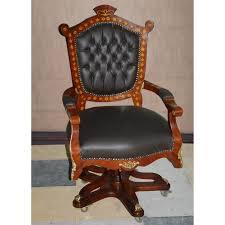 chaise de bureau antique baroque chaise pivotante chaise de bureau moch1449 de style antique