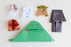 Star Wars Origami Yoda Series Puppets