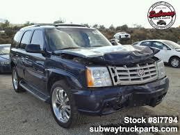 100 Cadillac Truck Used Parts 2004 Escalade 60L AWD Subway Parts