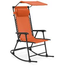 Best Choice Products Foldable Zero Gravity Rocking Patio Chair W/ Sunshade  Canopy - Orange Kawachi Foldable Zero Gravity Rocking Patio Chair With Sunshade Canopy Outsunny Folding Lounge Cup Holder Tray Grey Varier Balans Recliner Best Choice Products Outdoor Mesh Attachable And Headrest Gray Part Elastic Bungee Rope Cords Laces For Replacement Costway Rocker Porch Red 2 Packzero Pieinz Gadgets In Power Recliners Vs Manual Reclinersla Hot Item Luxury Airbag Replace Massage Garden Adjustable Sun Lounger Zerogravity Seat Side Deck W Orange Marvellous Lane Fniture For Real
