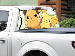 Product: Pikachu Pokemon Raichu Rear Window Decal Sticker Pick-up ... Neongreencarvehicleback Free Photo From Needpixcom Window Decals For Business Logos Car Sticker Kiss Goodbye To Ms 2019 Christmas Wiper Decals Decorations Pvc Rear Product Renegade Window Decal Vinyl Windshield Fender Graphic Mockup Mock Up Truck Suv Etsy Peeping Family Art Pating Stickers Decor 2 Line Minivan Back Usdot Number Stickers How To Apply A Die Cut Or Your Youtube Aliexpresscom Buy Hotmeini 2x Sexy Women Silhouette Fits Gmc Trucks Custom Arts