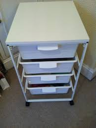 Plastic Drawers On Wheels by My Life As A Beauty Addict Make Up Storage