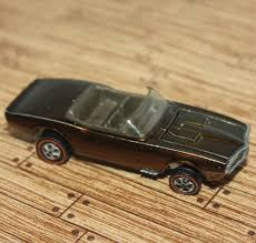 Vintage 1968 Hotwheels Red-line/Custom Firebird/Rare Copper Brown ...