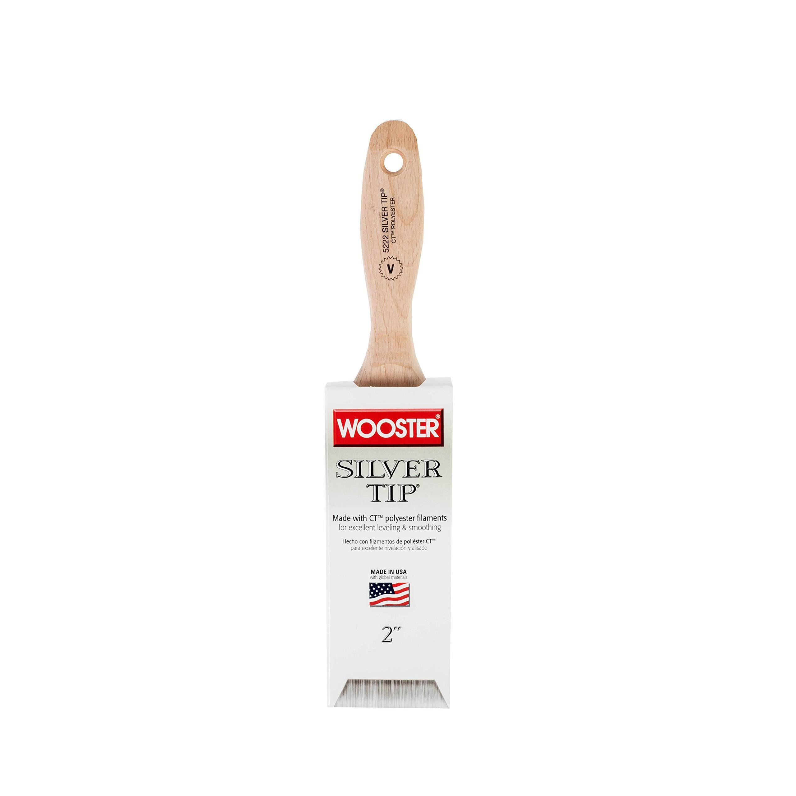 "Wooster Silver Tip Varnish Brush - 2"" 50mm"