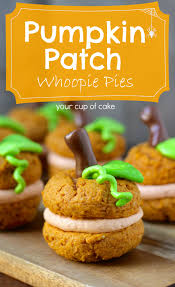 Cake Mix And Pumpkin Cookies by Pumpkin Patch Whoopie Pies Your Cup Of Cake