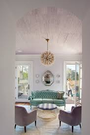 light purple living room contemporary with analogous color scheme