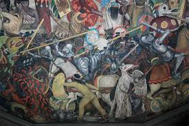 Famous Spanish Mural Artists by Images Of Murals By Diego Rivera In The Palacio Nacional De Mexico