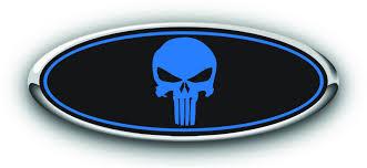 100 Ford Truck Emblems FORD PUNISHER DECALS AutoGrafix Designs CHEVYFORD OVERLAY CUSTOM