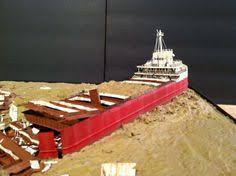 1 350th scratch built wreck of the edmund fitzgerald models and