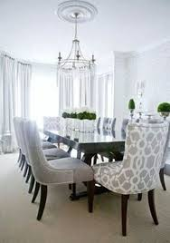 8 Modern Elegant Dining Room Head Chairs In Pattern Contemporary Buffet Design Pictures Remodel