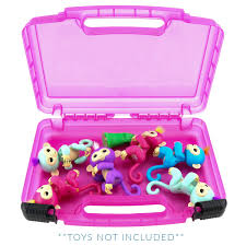 Life Made Better Fingerlings Monkeys Case Toy Storage Carrying Box Accessories For Kids By LMB