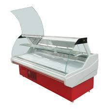 China Commercial Deli Display Fridge Chiller Cabinet For Butcher Shops Supplier