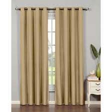 J Queen New York Kingsbridge Curtains by Eclipse Microfiber Blackout Moss Grommet Curtain Panel 95 In