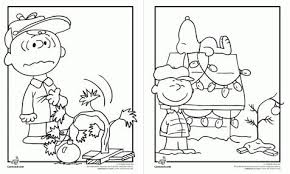 Grinch Coloring Pages Charlie Brown
