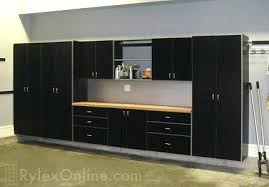 Garage Storage Cabinets Garage Cabinets With Wood fice Lowes