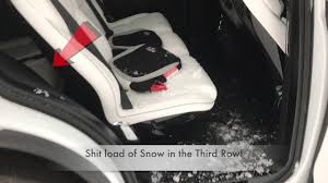 Tesla Model X Falcon Wing Doors and the SNOW FAIL