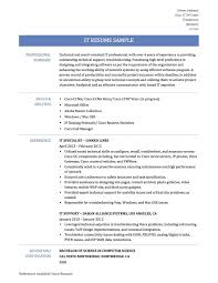 Curriculum Vitae Sample For Information Technology Best Consultant Resume 01 15 Examples