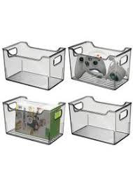 mdesign 4er set aufbewahrungsbox mit griffen allzweckkorb