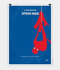 No201 My Spiderman Minimal Movie Poster